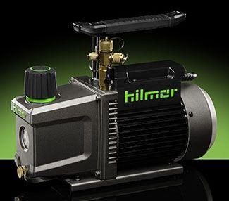 """1/4"""" or 3/8"""", 1/3 HP, 120 VAC 60 Hz, 4.5 A, 3 CFM, 2-Stage, Rotary Vane, Vacuum Pump"""