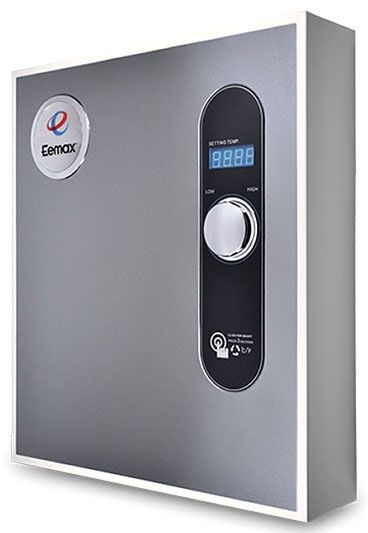 Tankless Water Heater, Electric - 24kw, 240 VAC 1-Phase, 100 A, 6 GPM, Residential, 1-Point, 3-Module, Point-of-Use Water Heater