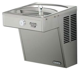 """18-1/16"""" x 18-5/8"""" x 20-5/8"""", 3/8"""" CTS, 115 VAC 60 Hz, 260 W, 8 GPH, Lead-Free, Stainless Steel, 1-Station, Wall Mount, Filtered, Water Cooler"""