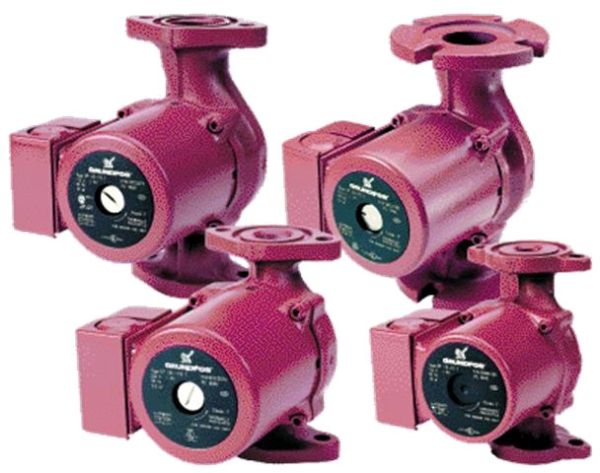 Flanged x Flanged, 0 to 6.1' Discharge Head, 1/12 HP, 115 VAC 60 Hz, 1-Phase, 1.7 A, 28.2 GPM, 145 PSI, Stainless Steel, 1-Speed, Circulating Pump