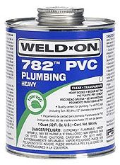 1 Gallon, Can, Lead-Free, Clear, Heavy, Medium, 782 Solvent Cement
