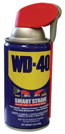 8 Oz, Can, WD-40 Lubricant