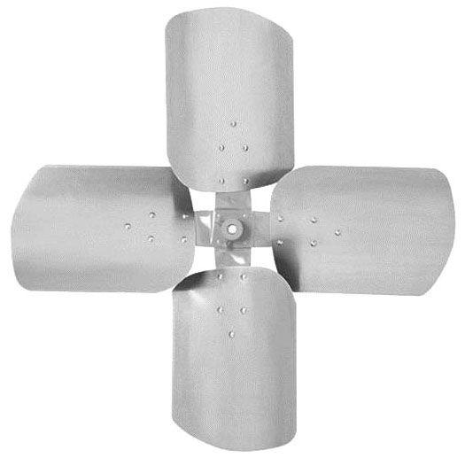 "18"", 27D Pitch, 4-Aluminum Blade, Clockwise Rotation, Heavy Duty, Condenser Propeller"