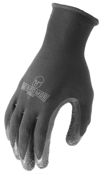 Large, Latex Palm, Dipped, Gloves (12 Pair-Bag)