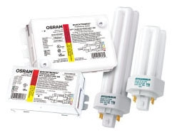SAT S5226 QTP1/2X18CF/UNV/BS; # of lamps: 1-2; CF18; Compact Fluorescent Programmed Start, < 10% THD, Universal Voltage Ballast