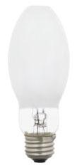 (69403) S-H38AV100DX 100W ED17 COATED WHITE MERCURY VAPOR (MV) MEDIUM SCREW BASE HID LAMP