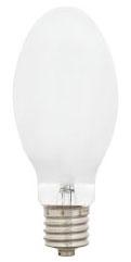 (69448) S-H37KC-250/DX 250W ED28 COATED WHITE MERCURY VAPOR (MV) MOGUL SCREW BASE HID LAMP