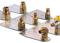 """1/2"""", Brass and Stainless Steel, 90D, Termination Valve"""