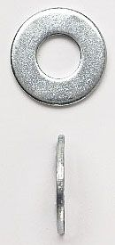 """13/16"""" x 2"""", 3/4"""" Bolt, Zinc Plated, Low Carbon Steel, Round, Flat Washer (50-Box)"""