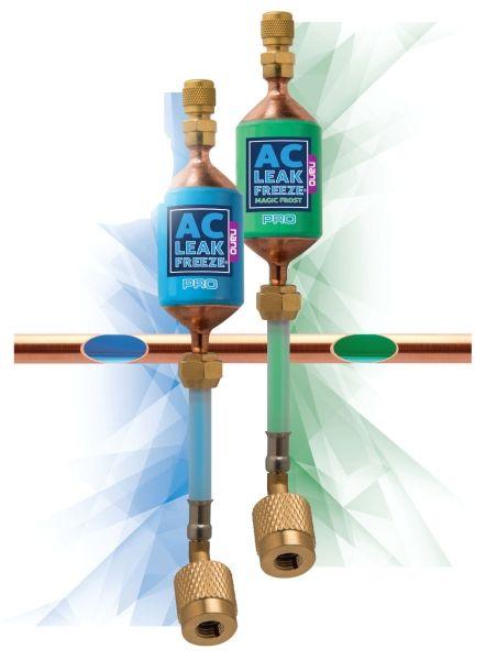 1.46 Oz, Blue, Leak Freeze Air Conditioner Leak Sealant