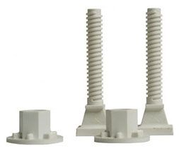 "3-1/2"", 1100 Lb, Glass Filled Nylon, Closet Bolt (2-Bag)"