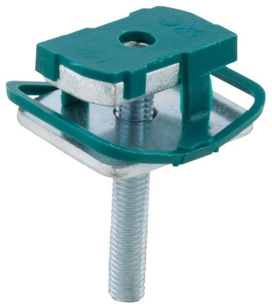 """1.53"""" x 1.37"""" x 3"""", 3/8"""" Rod, Zinc Plated, Steel, Strut Hammer Fix"""