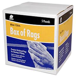 CLLY 37582 5LB BOX OF RAGS