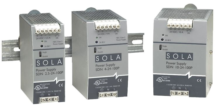 SOLA 24VDC POWER SUPPLY 10A