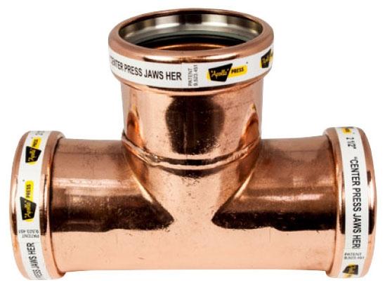 """2-1/2"""" Copper Press Tee"""