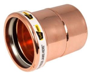"""2-1/2"""" Copper Press Cap"""