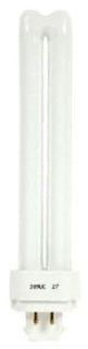 (48867) GE-F70QBX/835/A/ECO 70W T4 3500K 4-PIN (GX24q-6) BASE COMPACT FLUORESCENT (CFL) LAMP