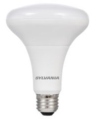 (78679) S-LED9BR30/DIM/HO/850/G5/RP 9W 120V 5000K MEDIUM (E26) BASE DIMMABLE LED BR30 LAMP 800 LUMENS 25,000 HOUR AVERAGE RATED LIFE