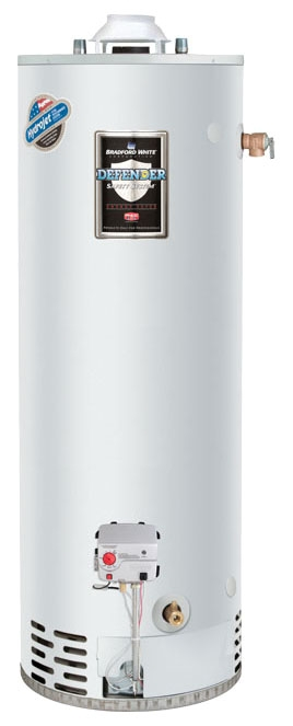 """RG2100H6N 100GAL 6YR NG 85000 BTU 4"""" VENT GAS WATER HEATER With T/P VALVE (MAGNESIUM ANODE ONLY)"""
