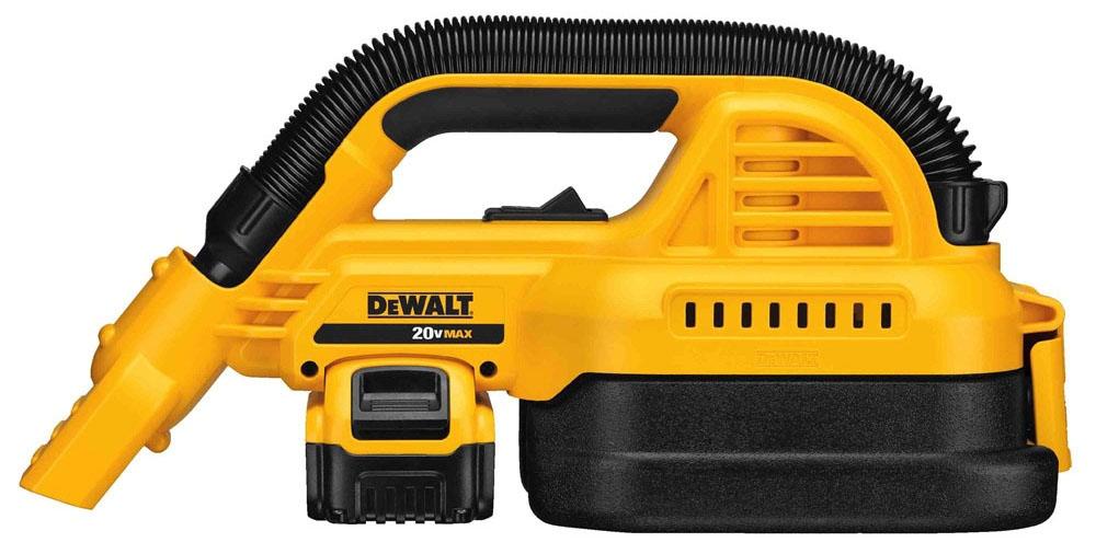 dwt DCV517M1 DEWALT 20V MAX 1/2 Gal Wet/Dry PORT Vac Kit