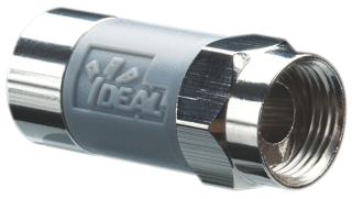 IDL 85-068 RG6 F TOOL-LESS CMPRCON GRY 10