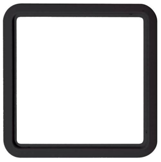 BEZ-55BLACKU UWZ 48 BEZEL, 55 X 55MM, BLACK