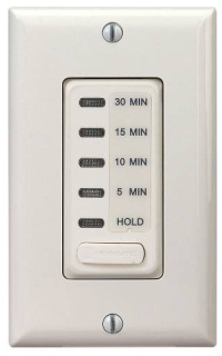EI200LA ELECTRONIC AUTO-OFF TIMER 5/10/15/30 MINUTE WITH HOLD LIGHT ALMOND