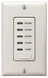 EI205LA ELECTRONIC AUTO-OFF TIMER 5/15/30/45/60 MINUTE LIGHT ALMOND