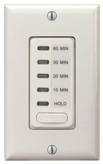 EI210LA ELECTRONIC AUTO-OFF TIMER 10/20/30/60 MINUTE WITH HOLD LIGHT ALMOND