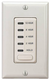 EI230LA ELECTRONIC AUTO-OFF TIMER 2/4/8/12 HOUR WITH HOLD LIGHT ALMOND