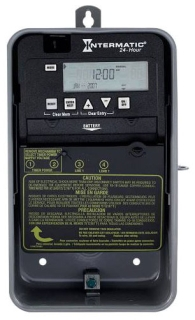 ET1105CR 24-HOUR 30-AMPS SPST ELECTRONIC TIME SWITCH, CLOCK VOLTAGE 120-277V NEMA 3R