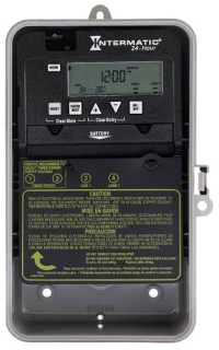 ET1105CPD82 24-HOUR 30 AMP SPST ELECTRONIC TIMESWITCH - CLOCK VOLTAGE 120-277V NEMA 3R PLASTIC