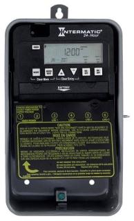 ET1125CR 24-HOUR 30 AMP 2XSPST OR DPST ELECTRONIC TIMESWITCH - CLOCK VOLTAGE 120-277V NEMA 3R
