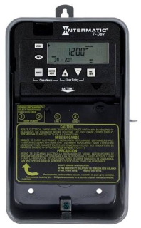 ET1705CR 7-DAY 30 AMP SPST ELECTRONIC TIMESWITCH - CLOCK VOLTAGE 120-277V NEMA 3R