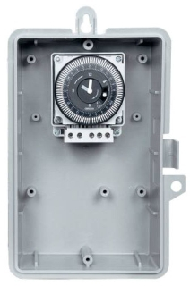 GMX121-O-120 1-HOUR CYCLE TIMER, NEMA 3R OUTDOOR PLASTIC ENCLOSURE, 120V 60HZ