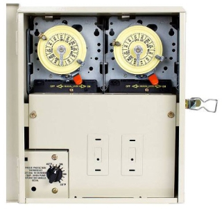 PF1202T FOR POOLS W/CLEANER REQUIRES 2 TIME SWITCHES, 240V