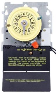 T104M201 MECHANISM 208-277 V DPST W/SPDT HEATER CUTOFF SWITCH