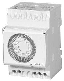 TALENTO121-240 1-HOUR CYCLE TIMER, SURFACE OR DIN RAIL MOUNT, WITHOUT ENCLOSURE, 240V 60HZ