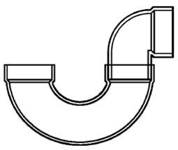 2 PVC DWV GLUE PTRAP