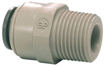JOHN GUEST 3/8 TUBE X 3/8 MALE CONNECTOR
