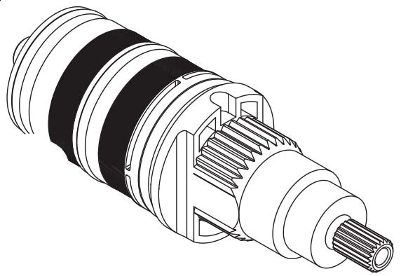 MOEN THERMOSTATIC CARTRIDGE