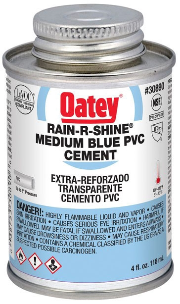 1/4 PINT PVC RAIN R SHINE WET SET CEMENT