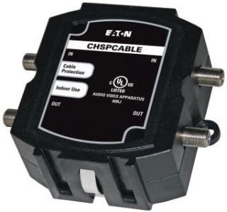 C-H CHSPCABLE Surge for(2)Coax Quad Shield Cables