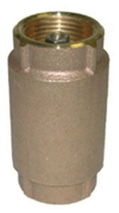 """3/4"""", FPT x FPT, 200 PSI WOG, Lead-Free, Rough Brass, Import, Check Valve"""