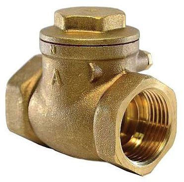 """3/4"""", FPT x FPT, 200 PSI WOG, Lead-Free, Brass, Threaded Bonnet, Swing, Check Valve"""