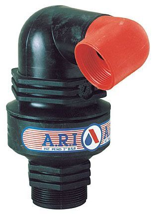 """2"""" x 1-1/2"""", NPT x BSP Female, 0.2 to 16 Bar, Reinforced Nylon, Automatic, Float, Air Release Valve"""