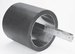 """10"""" DIPS, SDR 11, 304 Stainless Steel, Stiffening Insert for HDPE Pipe"""