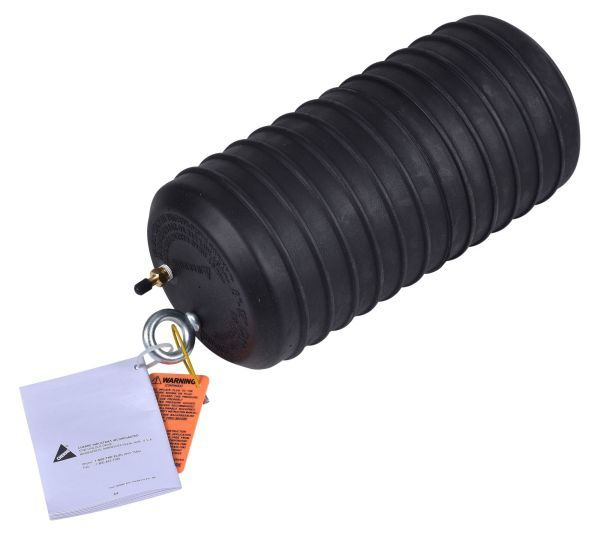 "8 to 12"", 11 PSI Back, 20 PSI Inflation, Natural Rubber, Pneumatic, Underground, Multi-Size, Test Ball Plug"