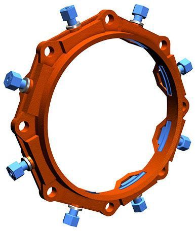 """18"""", Ductile Iron, Heavy Duty Thick Wall, Restraint for Mechanical Joint AWWA C900 PVC Pipe"""