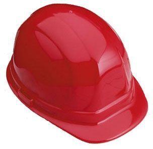 Orange, Standard, 6-Point Nylon Suspension, Ratchet Adjustment, Safety Helmet